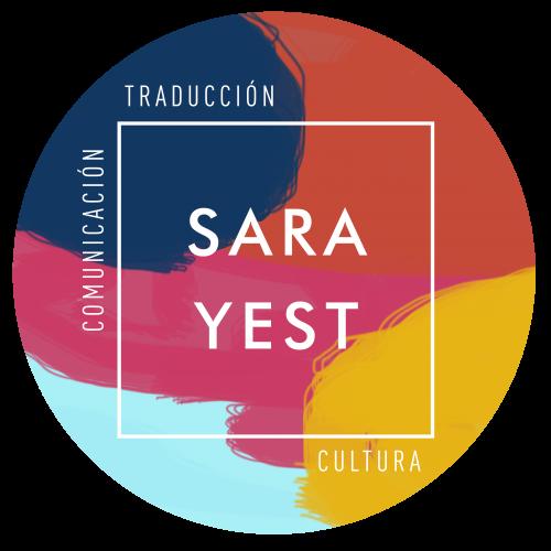 Logotipo SARA YEST traducción comunicación y cultura