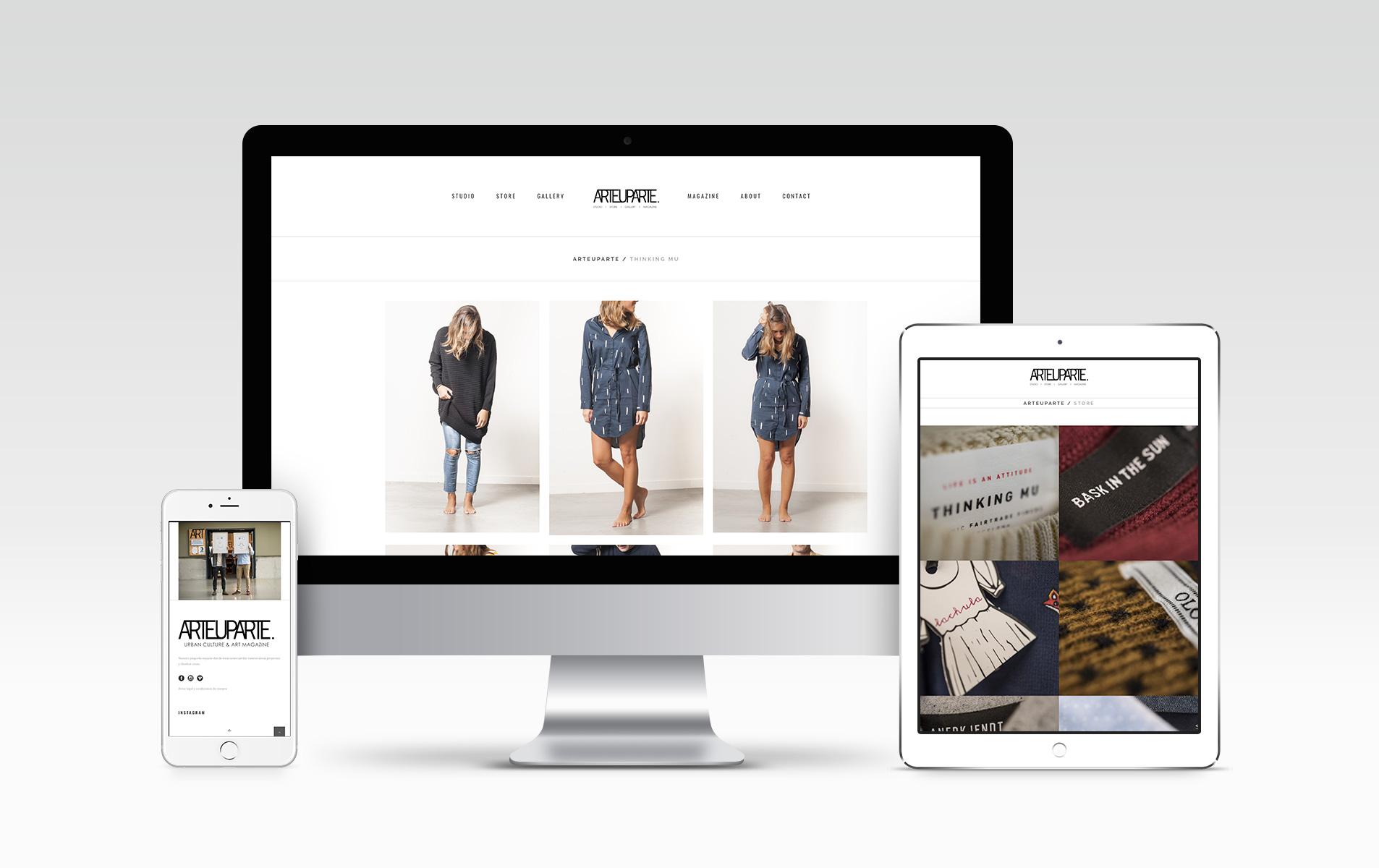 Diseño y desarrollo web Arteuparte