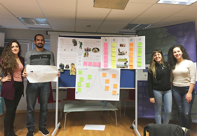 Taller Design Thinking - Universidad de Lugo