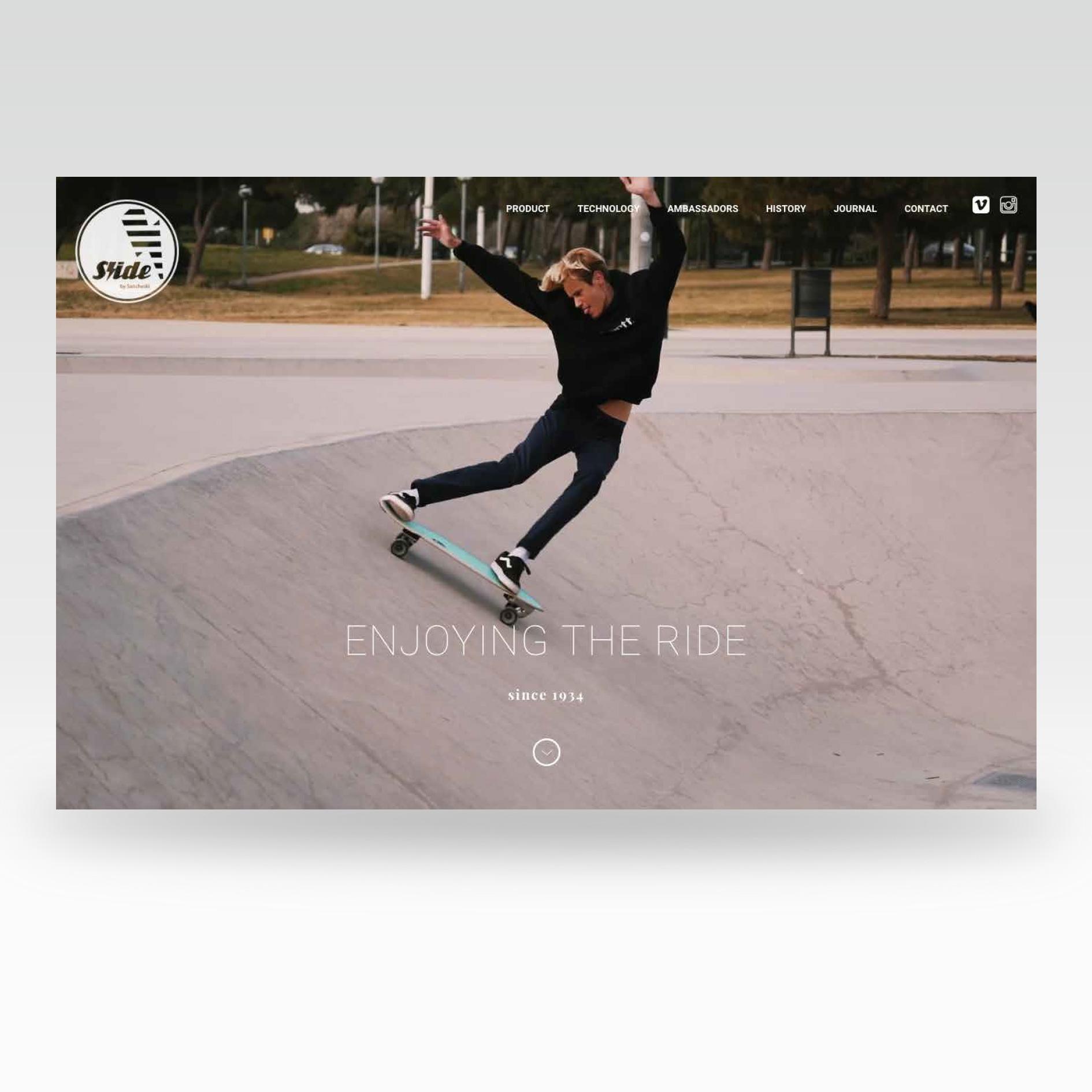 Diseño web Slide