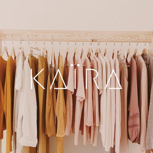 diseño marca tienda ropa kaira hondarribia